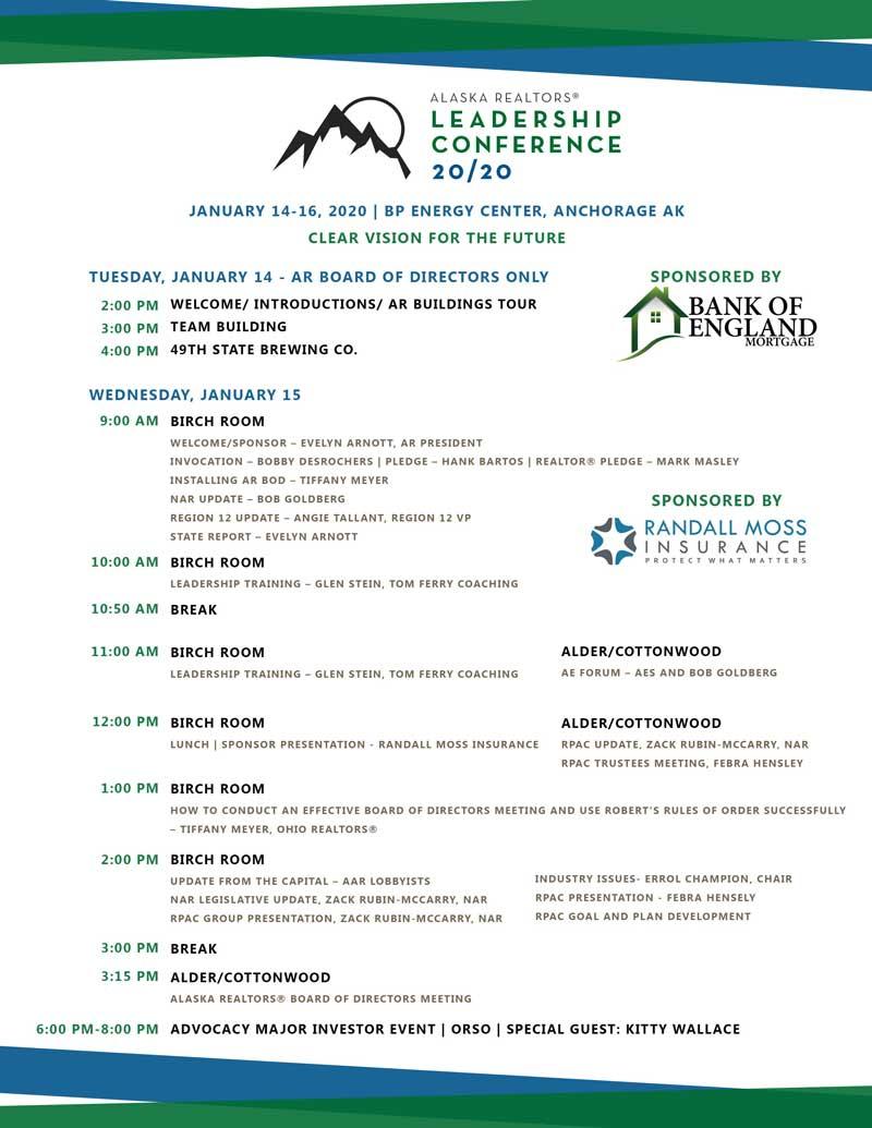 Leadership-conference-agenda